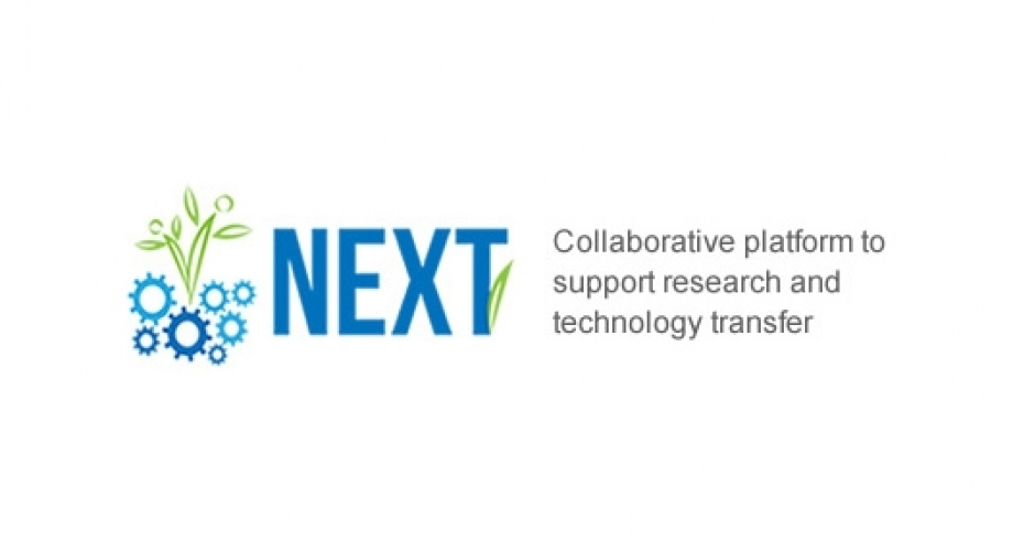 NEXT: Collaborative platform to support research and technology transfer